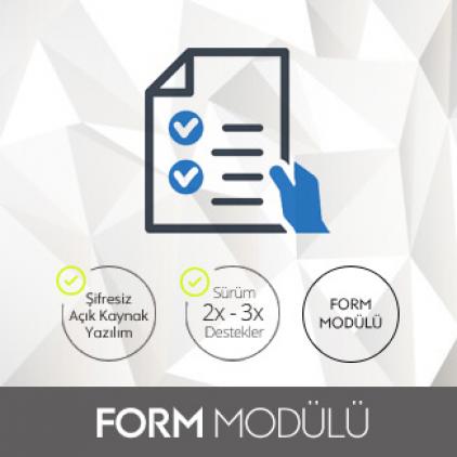 Opencart Form Modülü