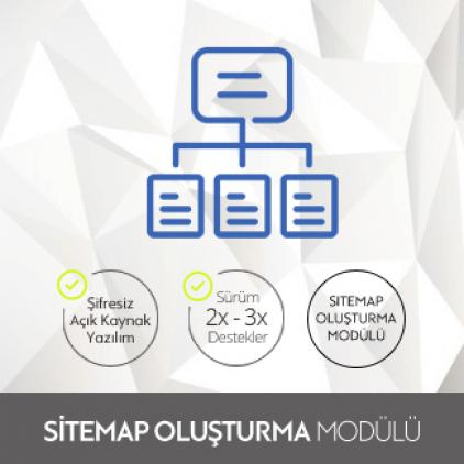 Opencart Sitemap Oluşturma Modülü