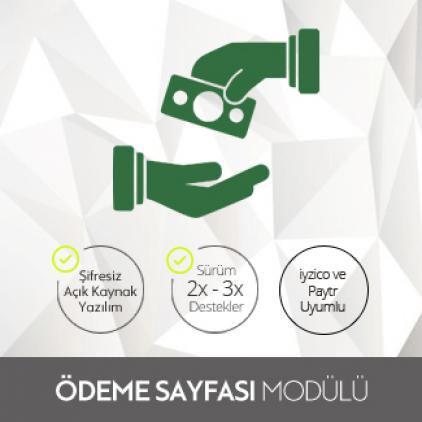Opencart İyzico & Paytr Tek Sayfa Uyumlu Ödeme Modülü