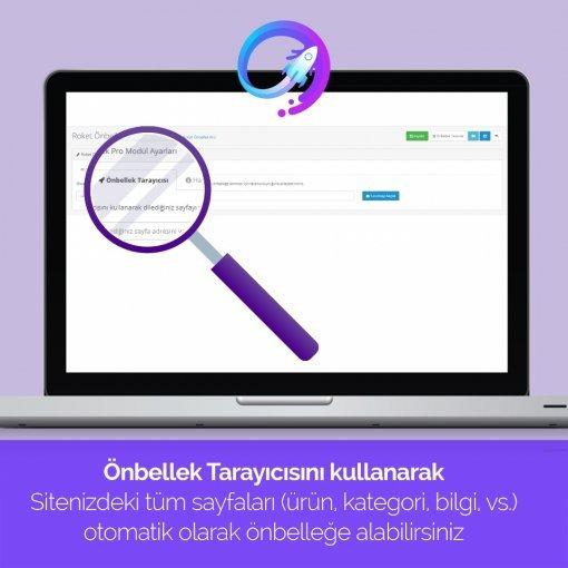 OpenCart Site Hızlandırma (Roket Cache PRO)