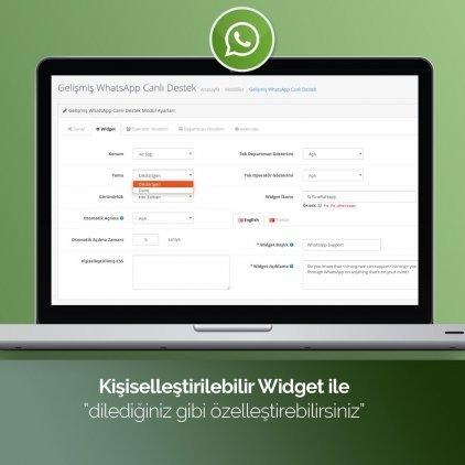 OpenCart Whatsapp Canlı Destek Modülü